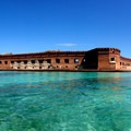 Panoramic photo of Fort Jefferson, Dry Tortugas National Park.- Step Back in Time at These Amazing Historic Sites