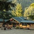 Loon Lake Lodge. Photo courtesy of Loon Lake Lodge.- Loon Lake Lodge + RV Resort