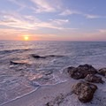 A colorful sunset at Point O' Rocks.- The Ultimate Florida Road Trip Part II: Central + South Florida