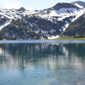 A view of the Matterhorn (9,826 ft) from Ice Lake.- 30 Alpine Lakes You Should Visit This Summer