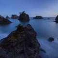 Twilight over Secret Beach in Samuel Boardman State Scenic Corridor.- Oregon Islands National Wildlife Refuge