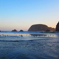 The tide coming in at Whaleshead Beach.- 3-Day Itinerary for Brookings, Oregon