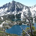 Ice Lake from Hurwal Divide.- Amazing Alpine Lakes