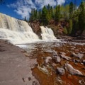 Middle Falls, Gooseberry Falls State Park.- Road Trip Along the North Shore of Lake Superior