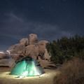 Camping at Ryan Campground, Joshua Tree National Park.- 3-Day Itinerary for Joshua Tree National Park