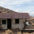 Old ruins from the Aguereberry Camp.- Ghost Towns of the West