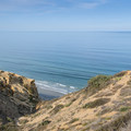 View of the Pacific Ocean from Guy Fleming Trail in Torrey Pines State Natural Reserve.- 10 Must-Do Hikes in San Diego