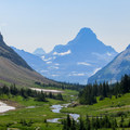 Looking back on Preston Park from Siyeh Pass.- 6 Epic Hikes in Glacier National Park