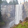 Vernal Falls.- Winter in Yosemite National Park