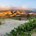 Sunrise from the dunes of Jalama Beach.- Best of Santa Barbara: Beaches, Camping, Parks, and Trails