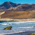 Surf fishing from Jalama Beach.- California's Best Beaches