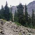 Hiking from Lower Blue Lake to Middle Blue Lake.- 5 Incredible Hikes in Colorado's San Juan Mountains