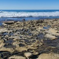 Rock formations at Nicholson Point Park host tide pools.- San Diego's Best Beaches