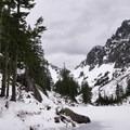 Looking toward the trail to Upper Melakwa Lake.- Best Winter Adventure Destinations