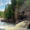 Fifth Falls, Gooseberry Falls State Park.- Road Trip Along the North Shore of Lake Superior