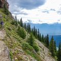 The balcony trail on the way to Devils Thumb in Banff National Park.- The Essential Alberta Road Trip