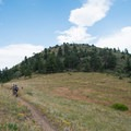 Centennial Cone: Looking up the switchbacks.- 10 Classic Denver Mountain Biking Trails