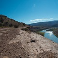 The Colorado River greets a rider starting the Kokopelli Loop.- Great Mountain Biking in Fruita and Grand Junction, Colorado