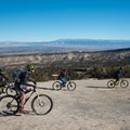 The open sections on the Lunch Loops allow groups to ride together.- Great Mountain Biking in Fruita and Grand Junction, Colorado