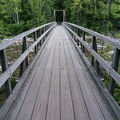 The bridge over West Branch Pemigewasset River on the Pemigewasset Loop.- 8 Not-To-Be Missed White Mountain Adventures