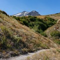 The latter half of the Plains of Abraham winds along the side of Mount St. Helens.- Remembering Outdoor Project Contributor Aden Williamson