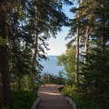 Hiking trail, Tettegouche State Park.- Road Trip Along the North Shore of Lake Superior