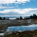 Pools of West Thumb Geyser Basin.-  Hot Springs, Geysers, and Other Geothermal Activity
