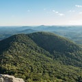 Looking south for miles from Yonah Mountain.- Where to Watch August's Solar Eclipse