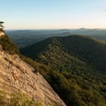Giant rock slabs on the summit are great for climbing.- 10 Must-Do Hikes near Atlanta, GA
