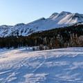 Views of Mammoth Mountain en route to Minaret Vista.- California Winter Adventures Beyond the Ski Slopes