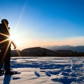 Minaret Vista lookout.- California Winter Adventures Beyond the Ski Slopes