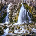 A scenic and shady respite at Kings Canyon Waterfall.- Adventuring across Nevada's Highway 50