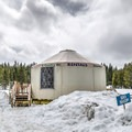 The yurt is the center of Hope Valley Outdoors' operation - rentals, lessons and maps are available here.- California Winter Adventures Beyond the Ski Slopes