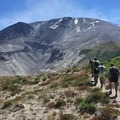 Mount St. Helens Loowit Trail.- Strong Feet + Strong Ankles = Happy Camper