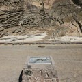 Signage along Petroglyph Point.- Lava Beds National Monument