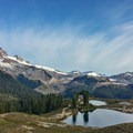 Elfin Lakes as seen from the Little Diamond Head Trail.- 5 Reasons to Visit Squamish, British Columbia