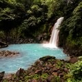 The falls at Rio Celeste.- 4 Tips To Take Your Costa Rica Adventures to the Next Level
