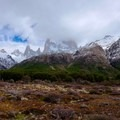 Views along the trail to Mount Fitz Roy.- Laguna des los Tres