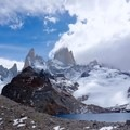The weather can often be unpredictable at Laguna des los Tres.- Laguna des los Tres