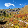 Fall arrives early around the tree line near Ice Lake.- 10 Reasons to Visit the San Juan Mountains