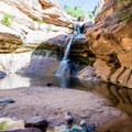 Pine Creek Waterfall.- A Complete Guide to Hiking in Zion National Park