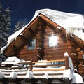 Fresh snow on the 10th Mountain Division ski huts near Vail.- 50 Must-Do Winter Adventures in North America