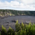 The Kīlauea Iki Crater.- Best Hikes in Volcanoes National Park