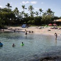 Kona Beach sits in front of the Marriott.- Big Island's Best Beaches