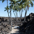 The path to Makalawena Beach leaves from the north end of Mahai'ula Beach.- Unforgettable National Natural Landmarks