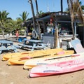 Rentals are available at A-Bay Beach.- Big Island's Best Beaches