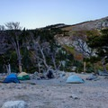 Camping by the lake.- 70 Breathtaking Backcountry Campsites