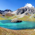 A different view of Island Lake.- High Altitude Hikes to Rise Above the Heat