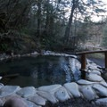 Upper Sacred Pool at Breitenbush Hot Springs.-  Hot Springs, Geysers, and Other Geothermal Activity