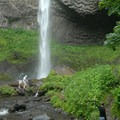 Latourell Falls.- The West's 100 Best Waterfalls